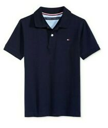 Tommy Hilfiger Designer Boys Stretch Polo T Shirt Blue Size 18 or 24 M