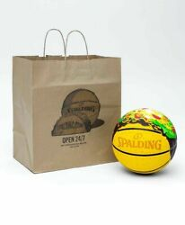 *IN HAND* NEW Spalding Street Taco Supreme Ball FREE SHIPPING $84.99