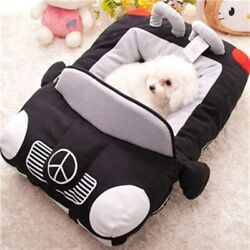 Car Shape Pet Bed Chihuahua Yorkie Pet Beds For Small Dog Detachable Dog Cushion $55.99