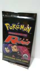 Pokémon Trading Card Game Team Rocket First Edition Booster Pack UNWEIGHED $210.00