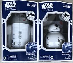 Target Star Wars Galaxy's Edge Trading Outpost Design A Droid BB and R2 Unit $59.95