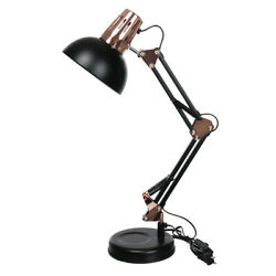Metal Desk Lamps Adjustable Neck Architect Table Lamp Swing Arm Desk Lamp Retro $28.19