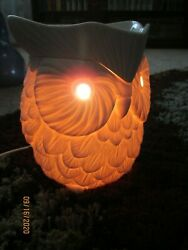 Scentsy Whoot Owl Full Size Electric Wax Warmer USED Bulb Included