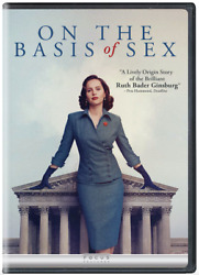 On the Basis of Sex DVD • NEW • Ruth Bader Ginsburg Felicity Jones $25.00