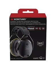 3M WorkTunes Connect Hearing Protection Headphones Noise Cancellation Bluetooth $59.99