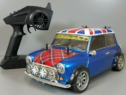 Use Tamiya 1 10 RC Rover Mini Cooper Racing FF M 03 Chassis Spektrum 2.4GHzESC $425.00