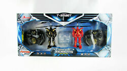 Riviera RC 3 CH Battle Robots with Gyro 2 Pack Black Red $25.00
