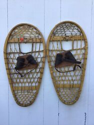 Vintage Bearpaw Snowshoes 28x13 In Very Good Condition $99.99
