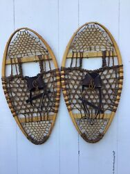 Vintage Bearpaw Snowshoes 30x16 In Mint Condition $129.99