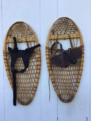 Vintage Bearpaw Snowshoes 26x12 In Mint Condition $129.99