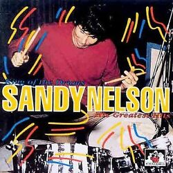 King of the Drums His Greatest Hits Sandy Nelson CD 1995 See For Miles FAST SHIP $5.99