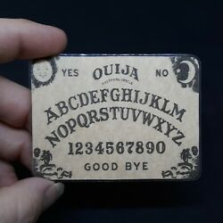 DIY MINI OUIJA BOARD 1pc CRAFT PORTABLE CARD OCCULT DIVINATION SEANCE GOTHIC $3.99