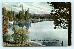 Postcard CO Moffat Road Rabbit Ear Range From Grand Lake 1908 View R65 $7.99