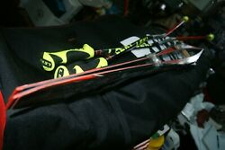 ROSSIGNOL 180 SKIS X IUM WORLD CUP SERIES S2 WCS XCELERATOR WITH LEKI POLES $850.00
