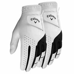 NEW 2021 Callaway 2 Pack Weather Spann Men#x27;s Golf Gloves **2 3 Day Free Ship** $19.85