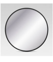 Project 62 Round Decorative Wall Mirror Black 18 New $39.99