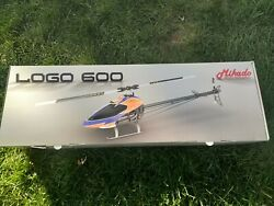 MIK05087 Mikado Logo 600 Electric Helicopter Kit and parts lot $750.00