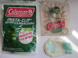 Insta Clip #21 Coleman Mantles and 1 sock $6.00