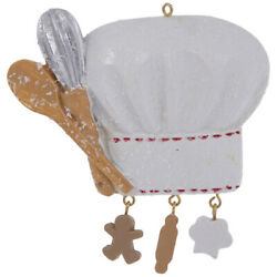 Kitchen Themed Ornaments set of 3 Different: Apron Baker#x27;s Hat Mixer $12.00