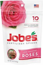 Jobes 04102 Rose Fertilizer Spikes 9 12 9 $13.96