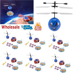 Electric LED Light Flying Ball Helicopter RC Sensor Drone UFO Flash Kids Toy LOT $317.50