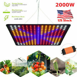 2000W 225LED Grow Light Growing Lamp Full Spectrum for Indoor Plant Hydroponic $28.30