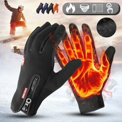 Winter Warm Gloves Thermal Windproof Ski Gloves for Cold Weather Men Women $8.99