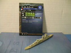 Axis amp; Allies War at Sea Task Force Hr. Ms. De Ruyter 6 60 $4.00