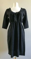 NWT Anthropologie Wool amp; Cashmere Charcoal Gray Dress by Viola $12.95