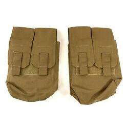 2 Eagle Industries 200 Round Pouch Ammo amp; General Purpose Military Coyote Brown $18.99