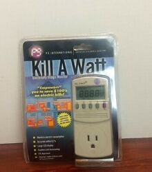BrandNew P3 Kill A Watt Power Usage Energy Saver Electricity Meter Monitor P4400 $34.00