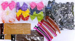 Hair Accessories 21 Piece Variety Pack Set For Ladies Girls Decorations $7.99