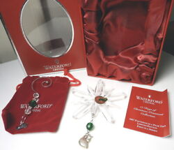 Waterford 12 Days of Christmas 2007 Partridge Ornament 1st Ed New Box $69.95