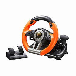 Steering Wheel Pedal Set Universal Usb Car Racing Gaming for PS3 PS4 Xbox One $114.38