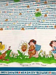 Novelty Kids * Whimsical World of Barbara Alexander Heavy Fabric 6 YARDS VGC $18.00