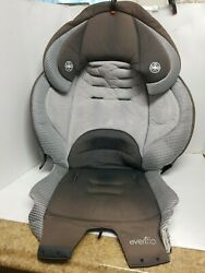 Evenflo Maestro 2014 Booster Gray Car Seat Fabric Cover Cushion Padding $9.60