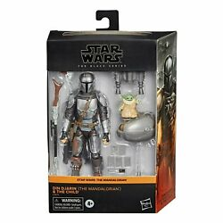 *Pre Order* Hasbro Star Wars The Black Series Din Djarin Mandalorian and Child $100.00