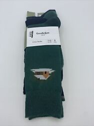 Men#x27;s Goodfellow amp; Co Crew Socks Size 7 12 Socks Boot Green and Blue $9.99