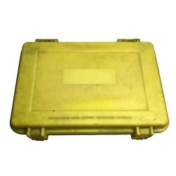 The Pelican Box Yellow with foam 9x6 inches $39.00