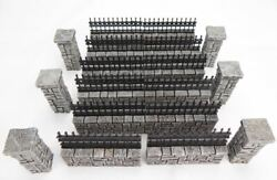 1308 Cemetery Wall Set 15pc Set $32.20