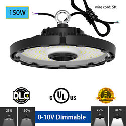150 Watt UFO LED High Bay Light 5000K Warehouse Industrial Commercial Lighting