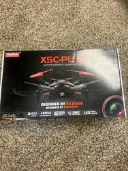 Syma X5C PLUS 2.4G 4CH 6 Axis 360 Degree Eversion RC Quadcopter With HD Camera $45.99