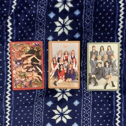 TWICE EYES WIDE OPEN I CANT STOP ME PREORDER OFFICIAL PHOTOCARD SET GROUP VER $6.00