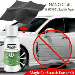 Nano Magic Car Scratch Remover Clothamp;Car Repairing Spray Coat Oxidation Liquid $8.82