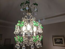 Antique French chandelier beautiful shape $550.00