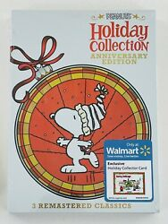 PEANUTS Holiday Collection Anniversary Ed. Charlie Brown Thanksgiving Christmas $29.99