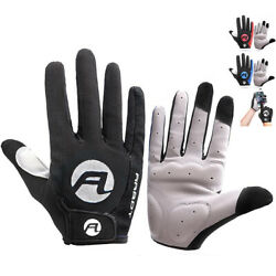 Cycling Gloves Full Finger Bicycle Gloves Anti Slip Gel Pad MTB Road Bike Gloves $8.99