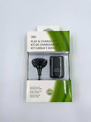 Play amp; Charge Kit Black for XBOX 360 Game Hand Controller Battery USB Cable XB $9.99