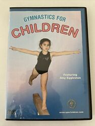 Gymnastics for Children DVD featuring Coach Amy Eggleston by Amy Eggleston $17.00