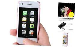 Mini Smartphone Unlocked Cell Phone SOYES 7S The World#x27;s Smallest Mobile Phone $129.54